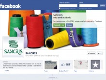 CURTA A FAN PAGE DA SANCRIS NO FACEBOOK