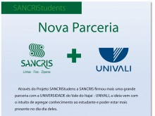 SANCRIS partnership with University of Vale do Itajaí - UNIVALI